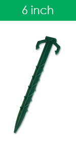 6 inch stake for landscape fabric by Smart Spring