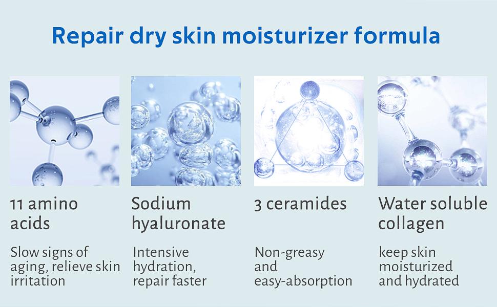 Repair dry skin