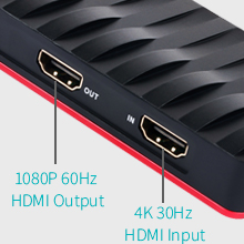 HDMI Capturadora Video Juegos, USB C HD Game Capture For PS4,PS3 ...