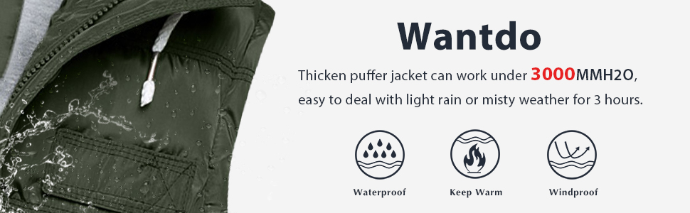 Wantdo Women's Quilted Puffer Vest
