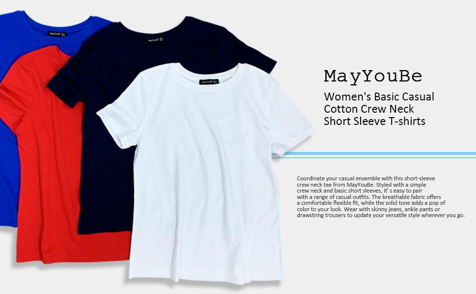 women's,t-shirts,short sleeve,crew neck