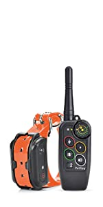 petspy m686 dog shock collar for 1 dog with remote and charger