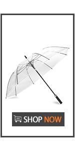 62 Inch Clear Golf Umbrella