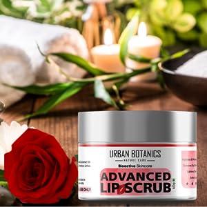 dark lips treatment cream, lip lightening, pink lips, lip balm for smokers, urban botanics, bella