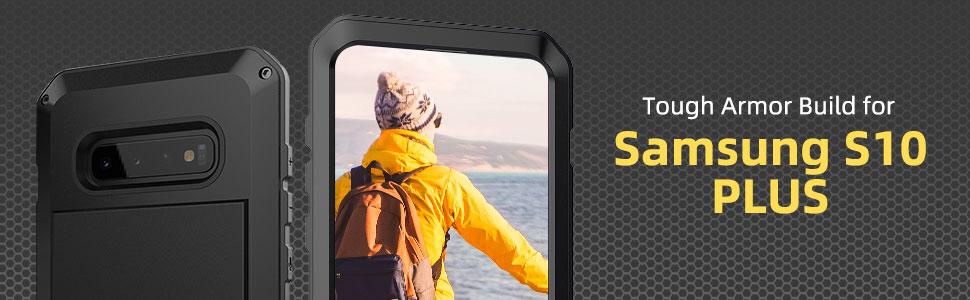 Beeasy Funda Samsung Galaxy S10 Plus,Antigolpes Rígida Robusta ...