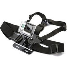 action camera chest strap