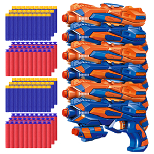 6 pack blaster toy guns