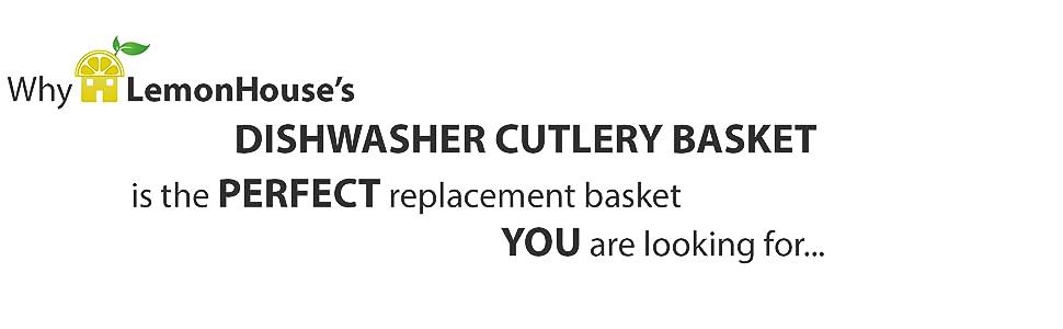 dishwasher silverware basket replacement