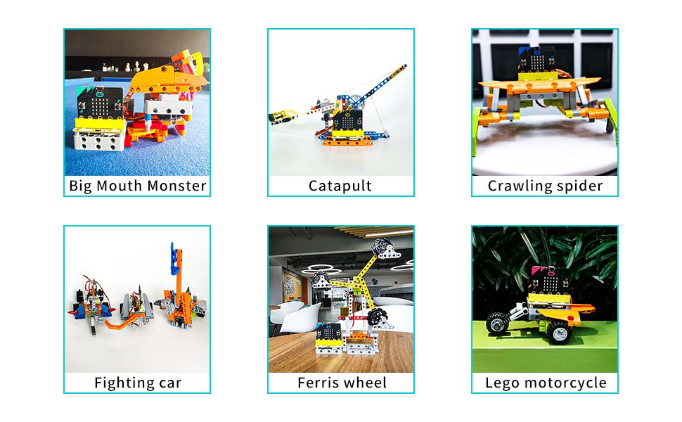 microbit kit car robot