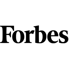 forbes, logo, black, white