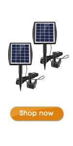 Ankway 2.0W solar water pump