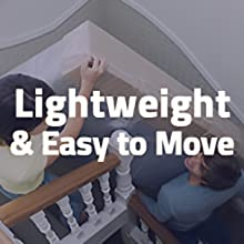 lightweight and easy to move