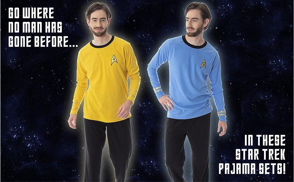 STAR TREK T-SHIRT COSTUME PAJAMAS