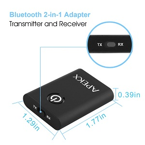 Bluetooth 2 in 1 Adapter