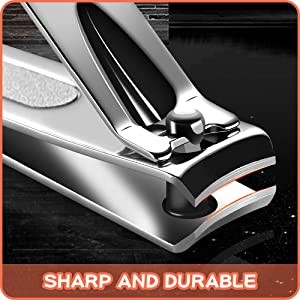 sharp and durable