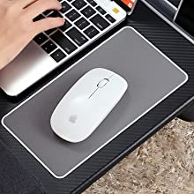 Home Office Lap Desk with Device Ledge, Mouse Pad, and Phone Holder