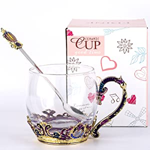 glass cup gift