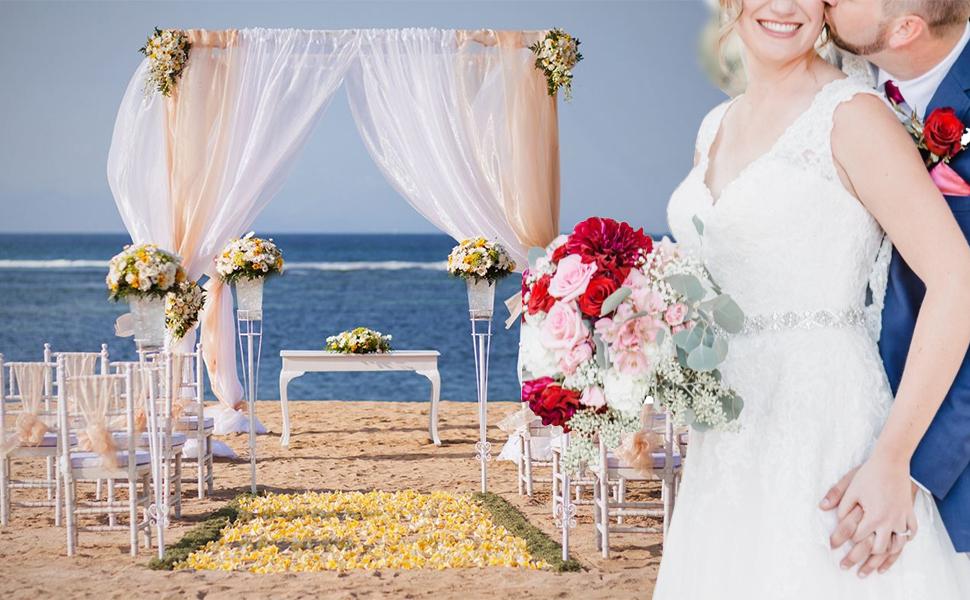 yanstar wedding dress belt