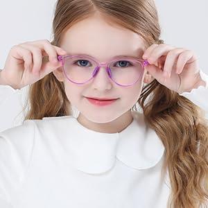 kids blue light blocking glasses boys