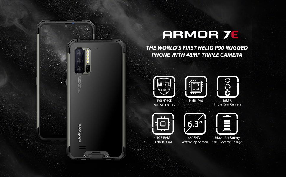 ulefone armor 7e rugged smartphone