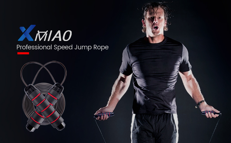 Fitness Skipping Rope Men 2.8m Exercise Pen handle High Speed Rope Durable