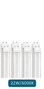LED T8 T10 T12 Light Tube Super Brightness Daylight White T8 T10 T12 Fluorescent Bulbs Replacement