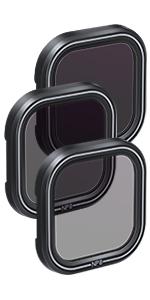 Auykoo 3 Pack Nd Objektiv Protector Kit Set Neutral Kamera