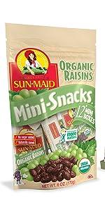 Organic Mini Raisins
