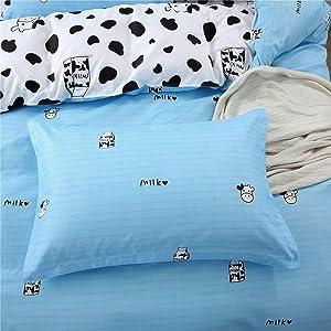 Two Cow Design Pillowcases