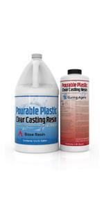 Pourable Plastic Deep Pour River Table Casting Applications Encapsulations Thick Pour Resin