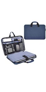 11.6-13 Inch Laptop Sleeve Briefcase with Organizer