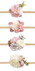 mini flower headbands