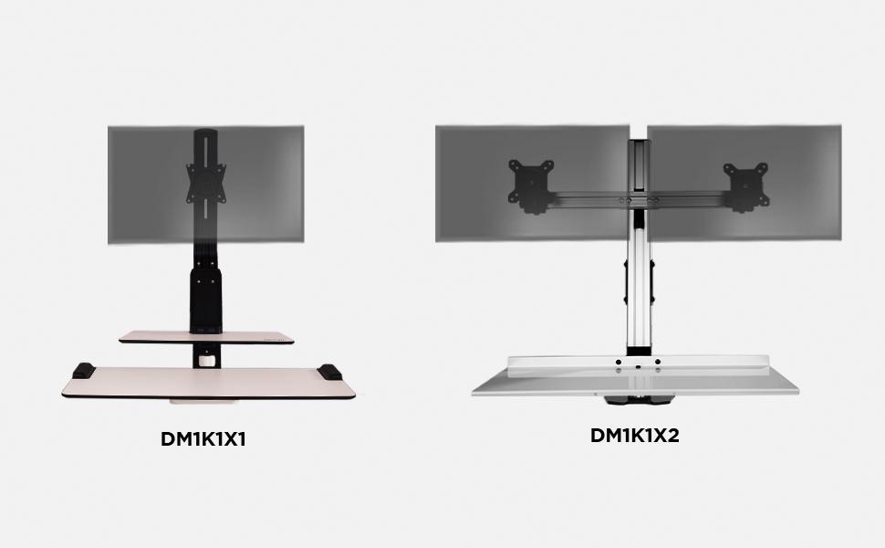 Duronic DM1K1X1 Soporte para Pantalla con Brazo Extensible y ...