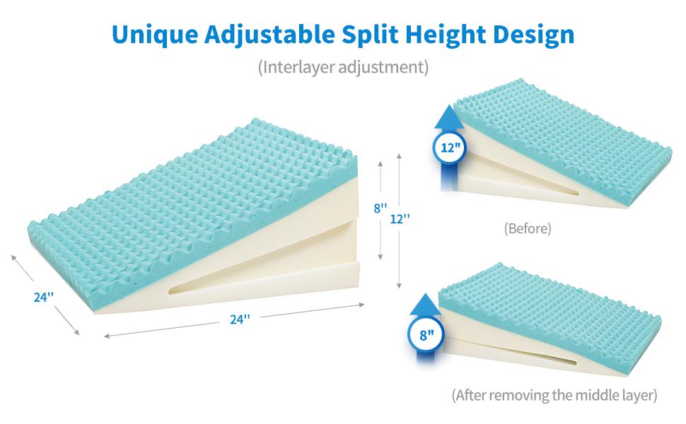 Unique Adjustable Split Height Design(Interlayer adjustment)