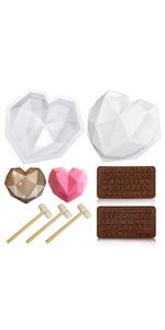 Chocolate Love Shape Mold
