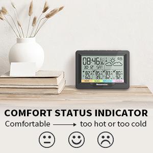 comfort staus indicator