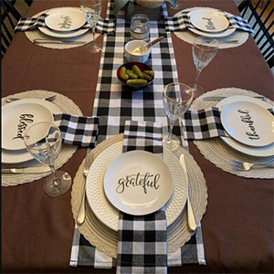 decorative round placemat country rustic