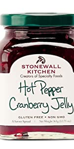 stonewall kitchen wild blueberry fruit jam breakfast spread jelly chutney