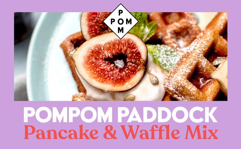 PomPom Paddock Pancake & Waffle Mix