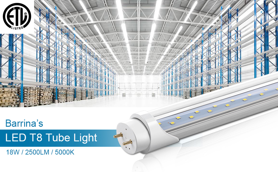 led light bulbs t8 fluorescent  tube 4ft replacement