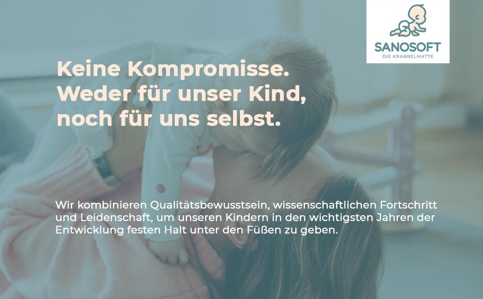 60cm X 100cm Blau Sanosoft/® Made in Germany Anti-Rutsch Krabbelmatte Oeko-Tex Krabbelunterlage *** gro/ße Auswahl an Farben und Gr/ö/ßen