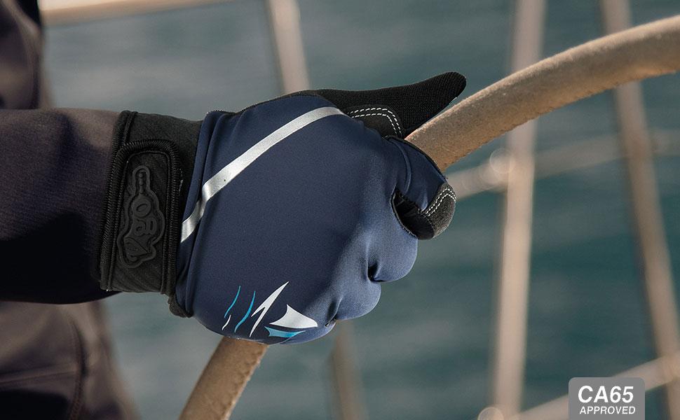 Blue/&Black, SL0054 2Pairs Mens Breathable Sailing Boating Rowing and Kayaking Gloves Vgo..
