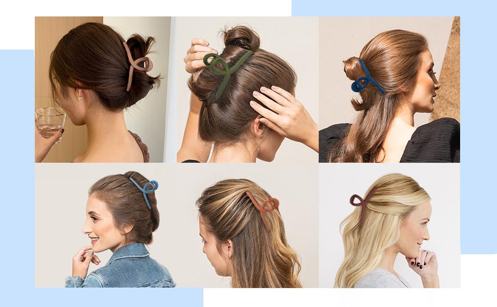 Hair Claw Clip 6 Color