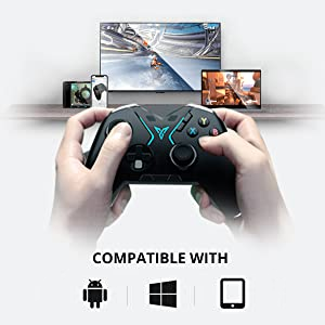 Flydigi Apex wireless controller compatible with iOS, Android, PC windows 7,8,9,10, PC TV box