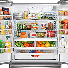 Monitor temperature in refrigerators, freezers and walk-in coolers