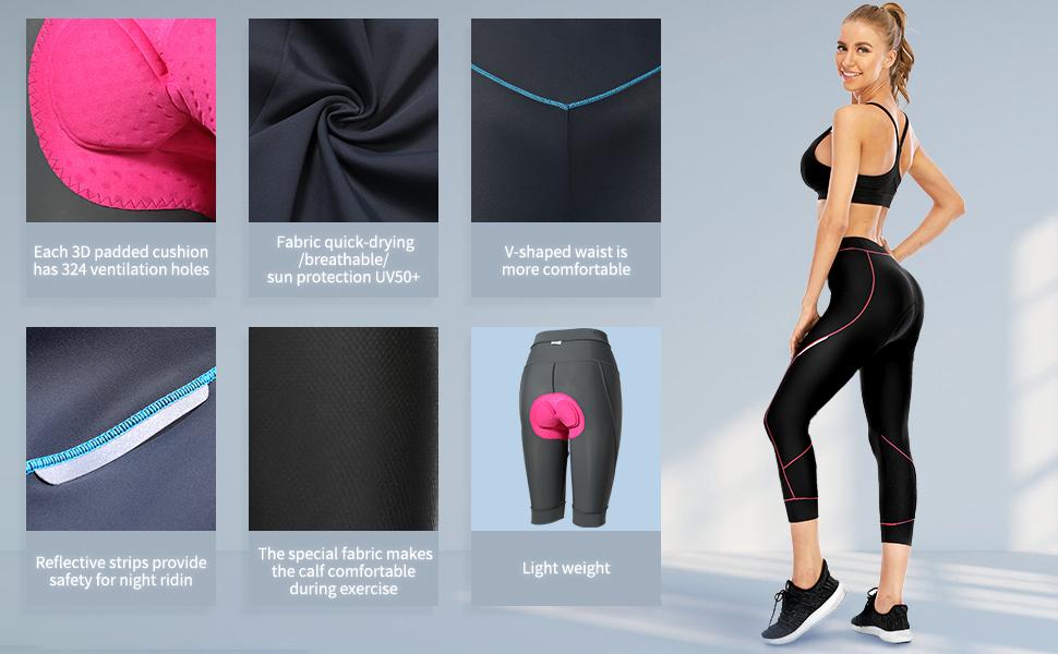 Cycling women pants