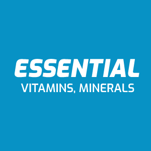 Essential Vitamins, Minerals