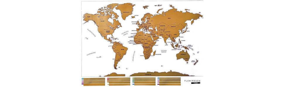 Cartina Mondo Png.Flamingueo Mappa Da Grattare Mappa Del Mondo Da Grattare Cartina Geografica Mondo Da Parete Mappa Del Mondo Mappamondo Interattivo Idea Regalo Mappamondo Da Parette 45 5 X 100 X 0 5 Cm Amazon It