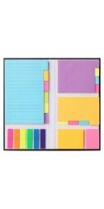 Mr. Pen- Sticky Notes Set, Sticky Notes Tabs, 410 Pack, Bible Sticky Notes, Divider Sticky Notes