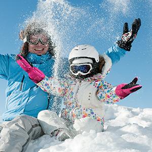 Pvnoocy Kinder Skihandschuhe F/äustlinge wasserdicht und Winddicht Schneeball Schnee-Fausthandschuhe atmungsaktiv Thermo warme Winterhandschuhe f/ür Skifahren Eislauf und Wintersportarten